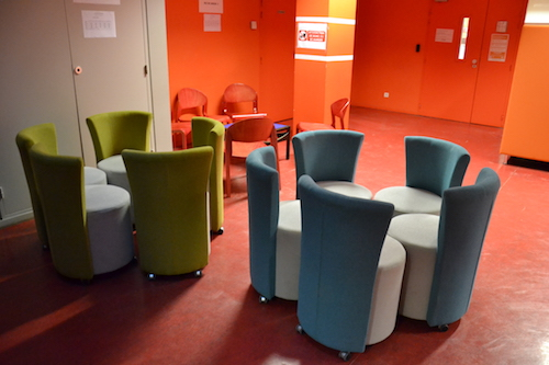 Espace de travail mobile, Centre de langues, Bron, Lyon 2