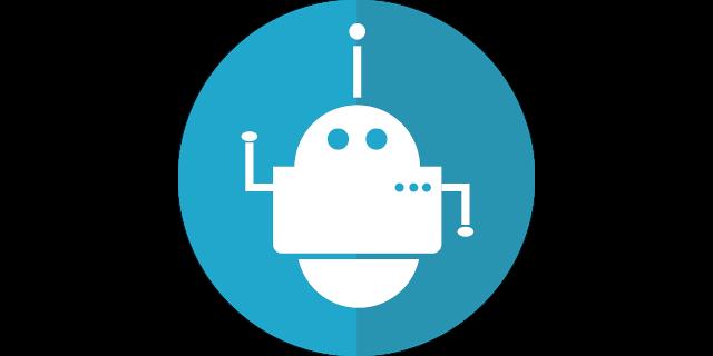 Robot de conversation. Crédit photo mcmurryjulie sur Pixabay